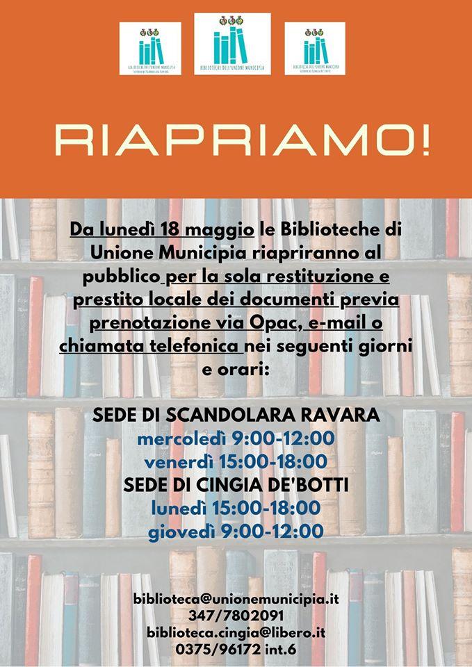 Orari Biblioteca